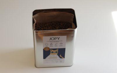 Pourquoi utiliser la boîte à croquettes de Jopy ?
