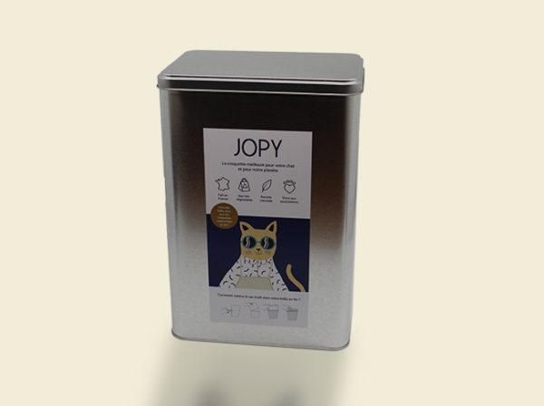 boîte à croquettes JOPY en métal